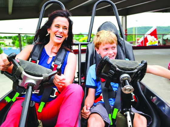 Satisfy your need for speed at The Track Family Fun Parks