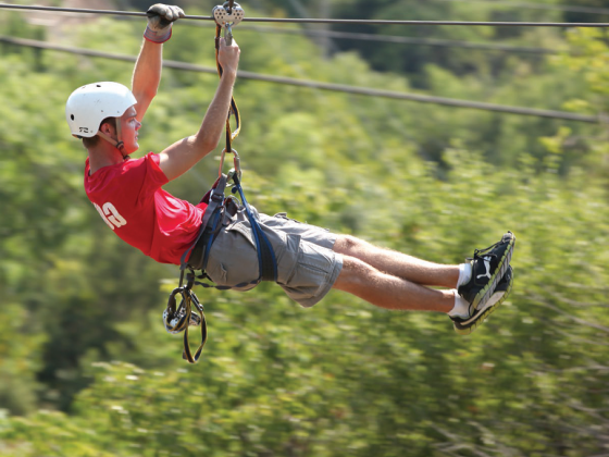 Soar in a Thrilling Sky-Ride at Adventure Ziplines of Branson