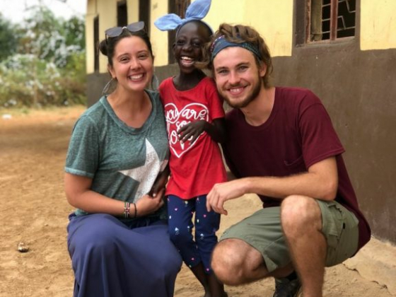 Unlikely angel: Branson woman sends love to Kenya