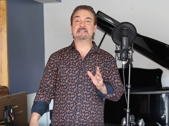"""Doug Gabriel performs """"Bridge Over Troubled Water"""" from his home studio"""
