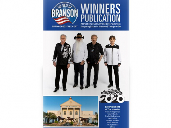The Best of Branson Winners Publication - Spring 2020
